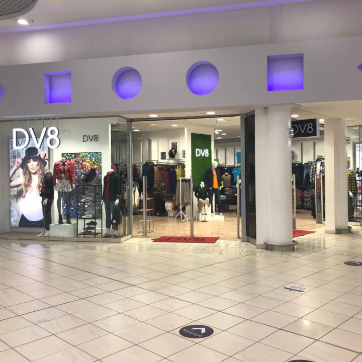 DV8 Shop Front